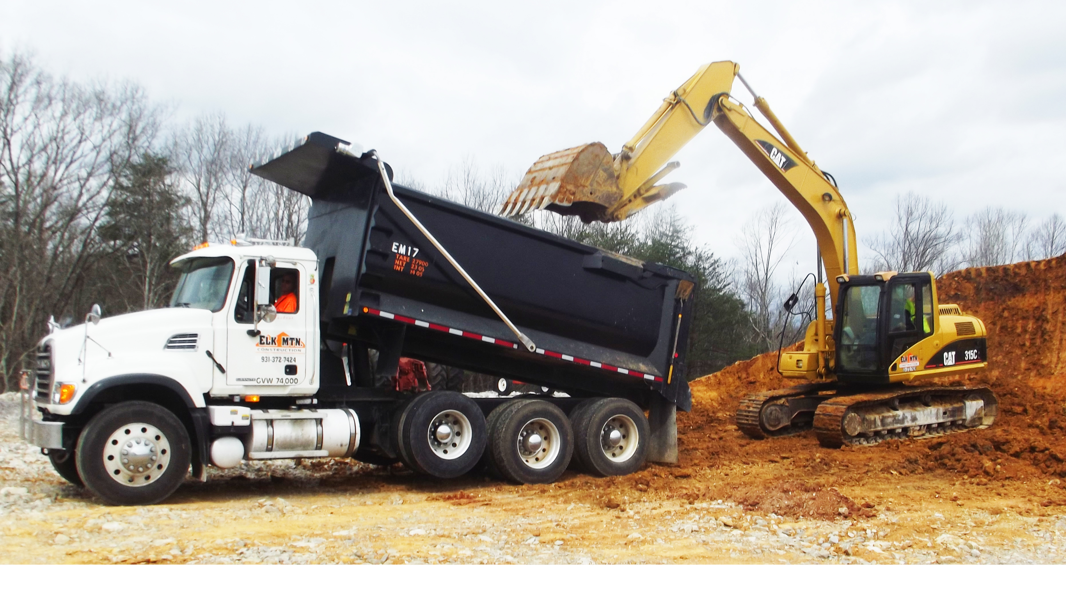 Elk Mountain Construction Company - Thompson Machinery