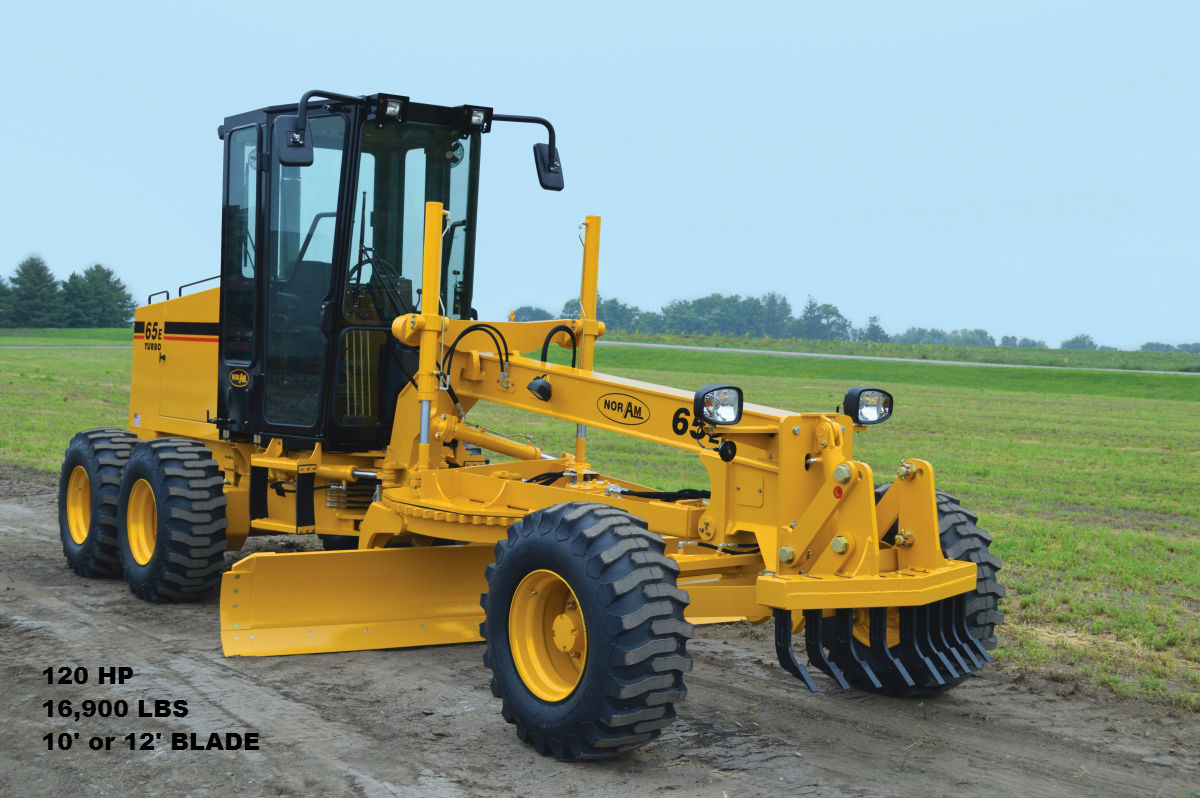 Noram65E Motor Grader for Rent