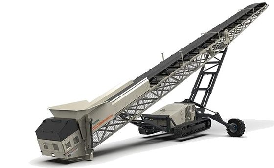 Mobile Track Conveyors